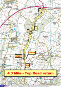 4.3m Top Road Return