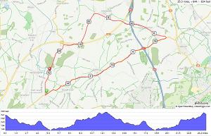 A25-16 25M TT Course